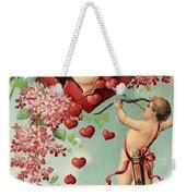 To My Valentine Vintage Romantic Greetings Weekender Tote Bag
