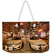 To Serve And Protect Weekender Tote Bag