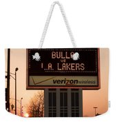 To The Bulls Game Weekender Tote Bag