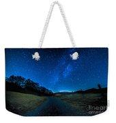 To The Milky Way Weekender Tote Bag