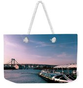 To The Space From Sea Weekender Tote Bag