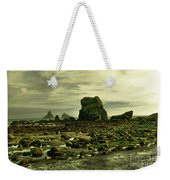To Walk Alone Along Rocky Shores Weekender Tote Bag