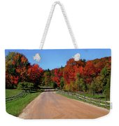 To Where Does The Road Lead Weekender Tote Bag