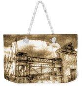 Tobaco Dock London Vintage Weekender Tote Bag