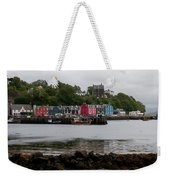 Tobermory Town Cityscape, Isle Of Mull Weekender Tote Bag