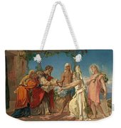 Tobias Brings His Bride Sarah To The House Of His Father Tobit Weekender Tote Bag