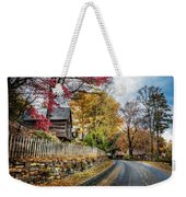 Toccoa River Road Weekender Tote Bag