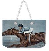 Tod Sloan (1874-1933) Weekender Tote Bag