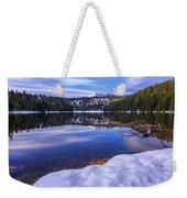 Todd Lake Weekender Tote Bag