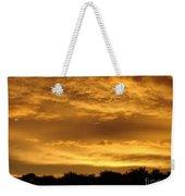 Toffee Sunset 3 Weekender Tote Bag
