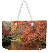 Together In Fall Weekender Tote Bag