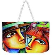Together In Love Weekender Tote Bag