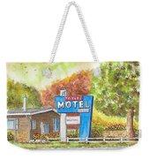Toiyabe Motel In Walker, California Weekender Tote Bag