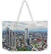 Tokyo City View Weekender Tote Bag