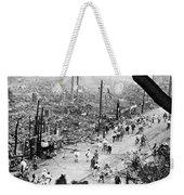 Tokyo Earthquake, 1923 Weekender Tote Bag