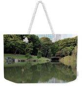 Tokyo Japanese Garden Weekender Tote Bag