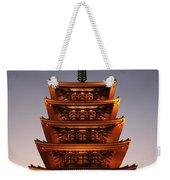 Tokyo Temple Lights Weekender Tote Bag