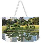 Tokyo Trees Reflection Weekender Tote Bag