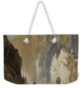Toltec Gorge And Eva Cliff From The West, Colorado, 1892 Weekender Tote Bag