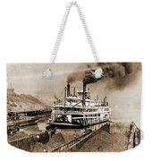Tom Greene River Boat Weekender Tote Bag