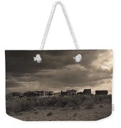 Tom Horn Set In Profile Mescal Arizona 1980 Weekender Tote Bag
