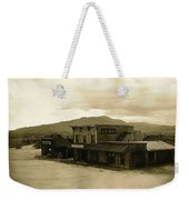 Tom Horn Set Overview Mescal Arizona 1980 Weekender Tote Bag