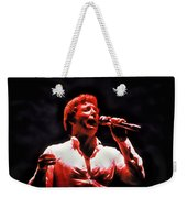 Tom Jones In Concert Weekender Tote Bag