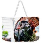 Male Turkey Weekender Tote Bag