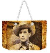 Tom Tyler, Vintage Western Actor Weekender Tote Bag