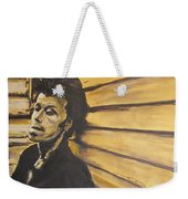 Tom Waits Weekender Tote Bag