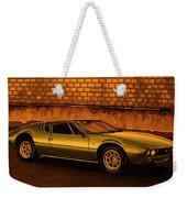 Tomaso Mangusta Mixed Media Weekender Tote Bag