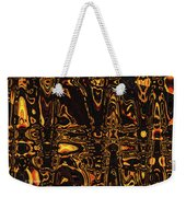 Tomatillo Abstract #2 Weekender Tote Bag