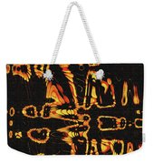 Tomatillo Abstract Weekender Tote Bag