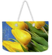 Tomato And Tulips Weekender Tote Bag