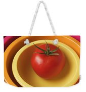 Tomato In Mixing Bowls Weekender Tote Bag