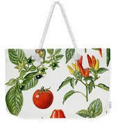 Tomatoes And Related Vegetables Weekender Tote Bag
