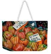Tomatoes At Market Weekender Tote Bag
