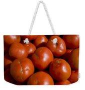 Tomatoes Sit In The Sun Awaiting Buyers Weekender Tote Bag