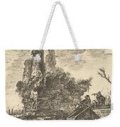 Tomb Of The Three Curiatii Brothers In Albano Weekender Tote Bag