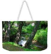 Toms Creek In Summer 3 Weekender Tote Bag