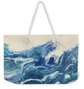 Too Blue Weekender Tote Bag