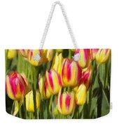 Too Many Tulips Weekender Tote Bag by Jeff Kolker