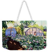Tool Shed And The Greenhouse Weekender Tote Bag