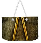 Tools On Wood 34 Weekender Tote Bag