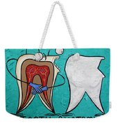 Tooth Anatomy Weekender Tote Bag
