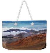 Top Of Haleakala Crater Weekender Tote Bag