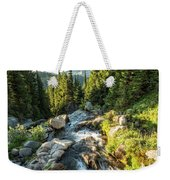 Top Of The Morning At The Top Of Myrtle Falls Weekender Tote Bag