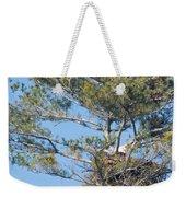 Top Of The Pine Weekender Tote Bag