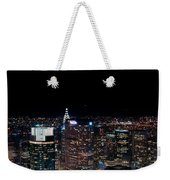 Top Of The Rock 3 Weekender Tote Bag