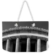 Top Portion Of A Lincoln Memorial Old Greek Architecture Weekender Tote Bag